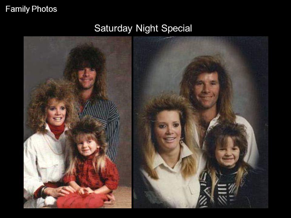 Saturday Night Special Family Photos