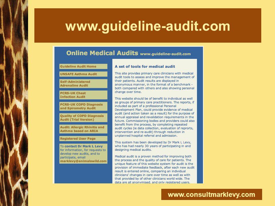 www.consultmarklevy.com www.guideline-audit.com
