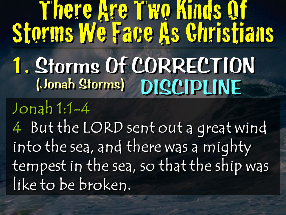 2.Storms Of PERFECTION (Disciple Storms) GROWTH 1.