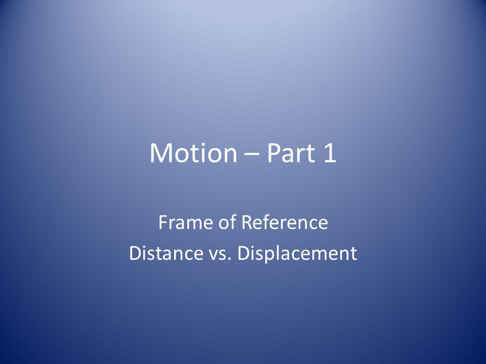 Update table of contents PageDateActivity 23 8/25Motion Part 1 notes (Distance and Displacement)