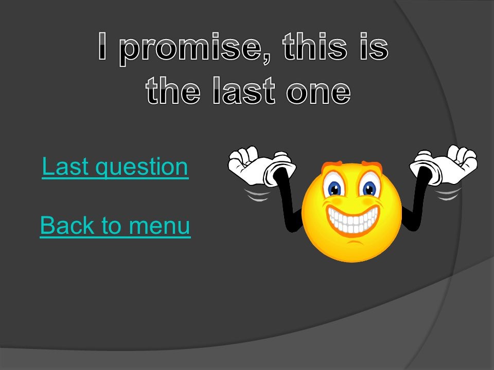 a)I'm going to be sick!I'm going to be sick. b)I… feel like crapI… feel like crap c)Wow.