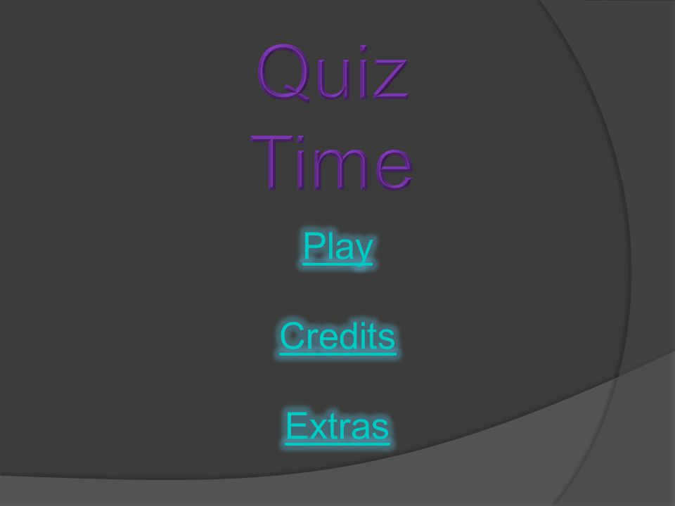 You've unlocked all the extras. Good Job. Now you can head to the menu and check them out.