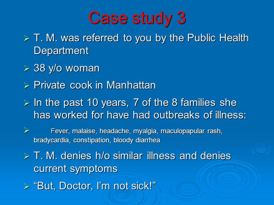 Case study 3 maculopapular rash