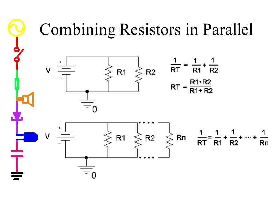 Combining Resistors in Parallel