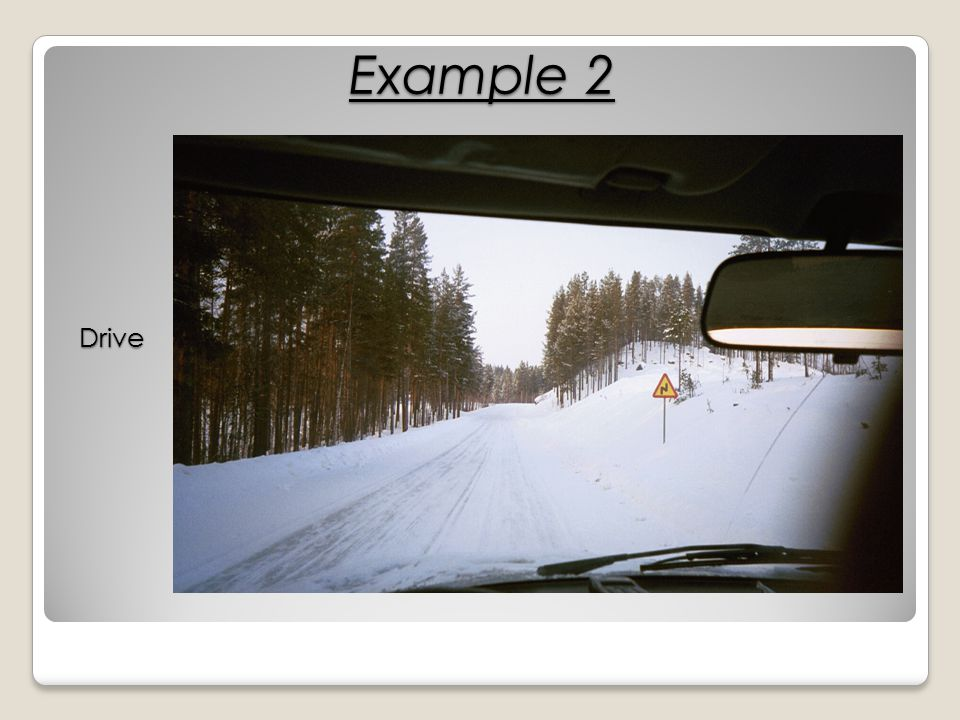Example 2 Drive