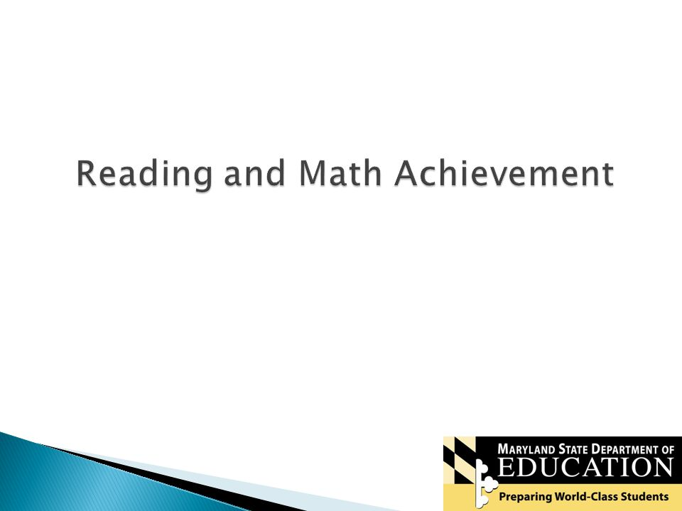 22 Reading and Math Achievement