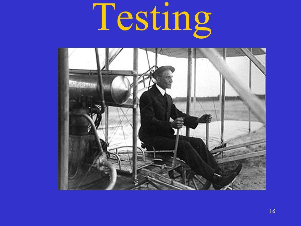 16 Testing