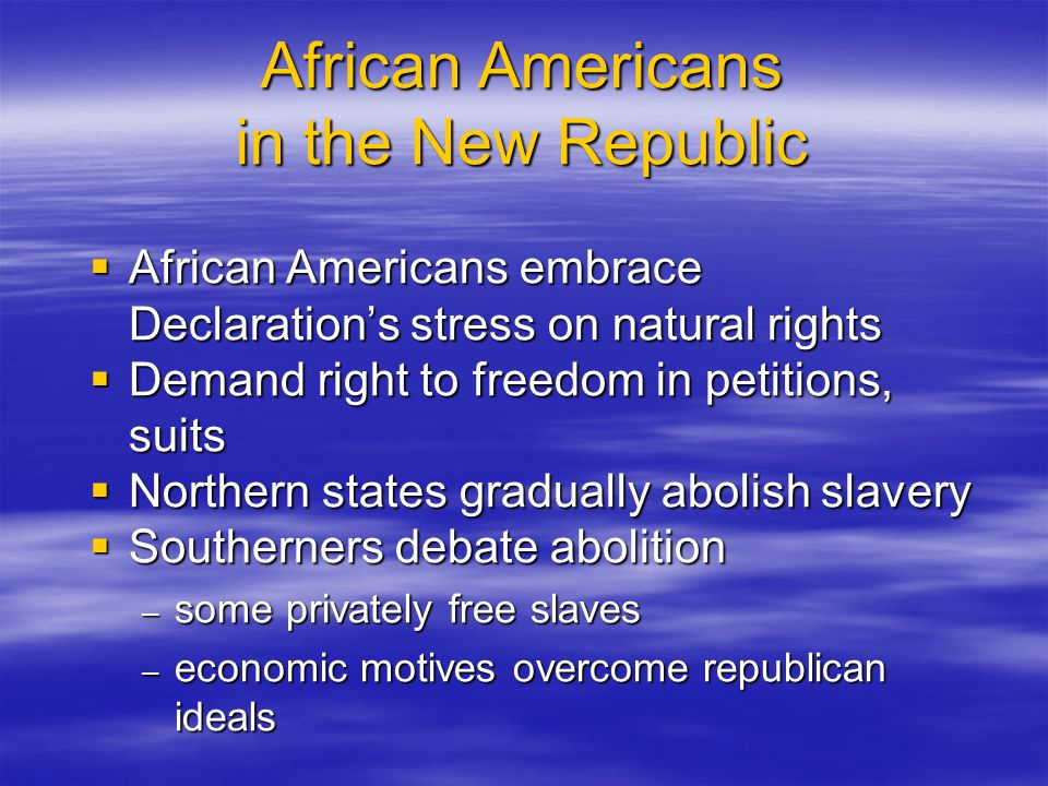 Inventing a Federal Republic: The Virginia Plan  Central government may veto all state acts  Bicameral legislature of state representatives  Larger states have more representatives  Chief executive appointed by Congress  Small states object to large-state dominance