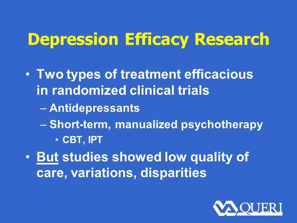 Quality Improvement Process Success Can sites design effective depression care improvement.