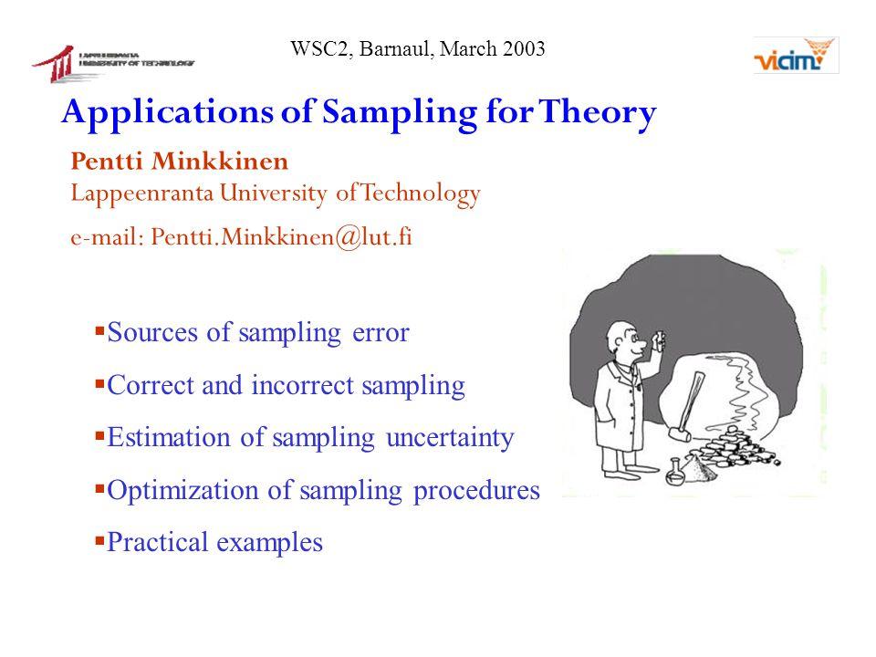 Incorrect sample delimitation