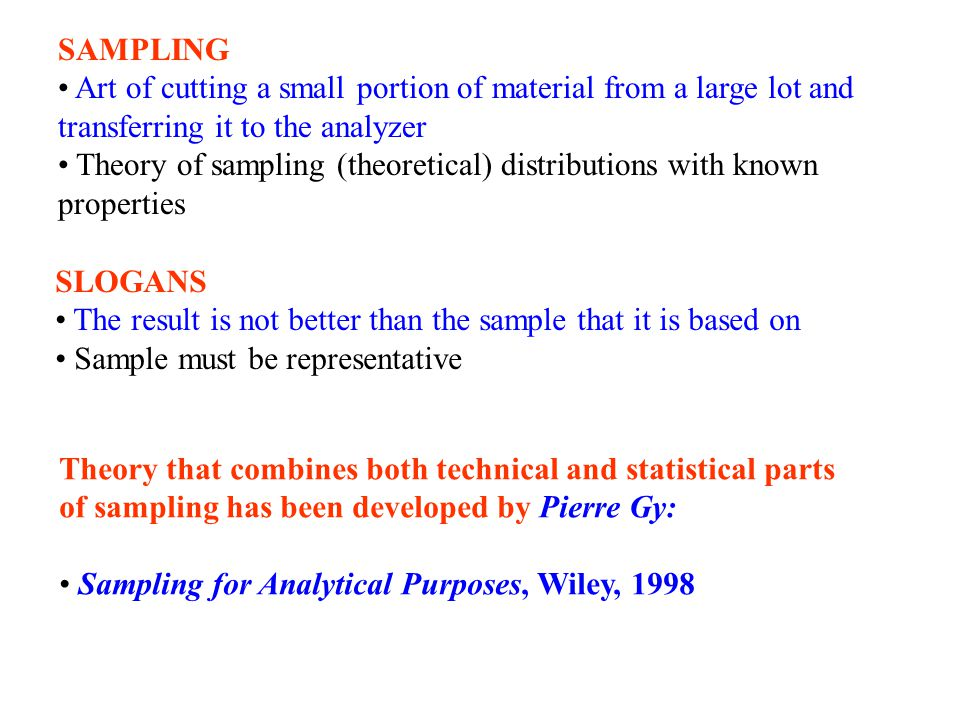 When sampling autocorrelated series the same number of samples gives different uncertainties for the mean depending on selection strategy Random sampling: Stratified sampling: Systematic sampling: s p is the process standard deviation, s str and s sys standard deviation estimates where the autocor- relation has been taken into account.