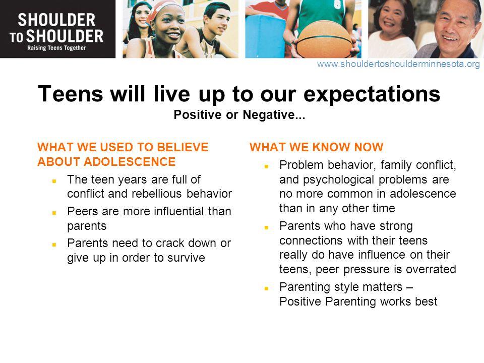 www.shouldertoshoulderminnesota.org POSITIVE PARENTING