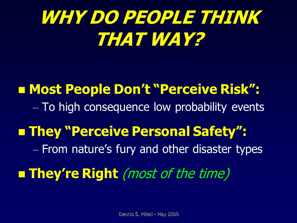 QUALITY RESEARCH (cont'd) Distinguishes Between: – What people think vs.