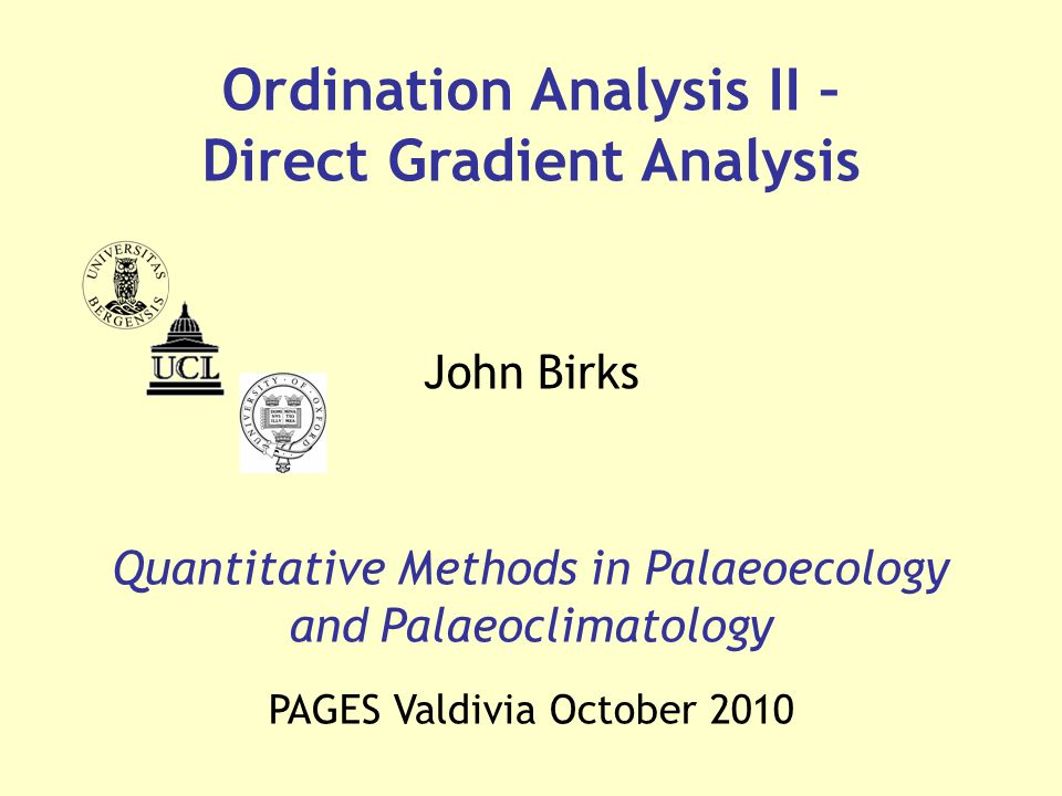 Isolines in RDA ordination diagram Biplot with environmental variables & sites Attribute plot T-value biplot Sample diagram with principal response curves Response curves fitted using GAM