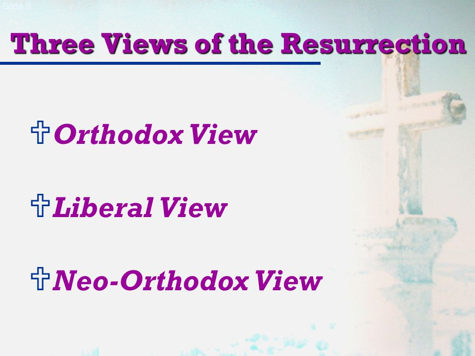 Slide 20 Eyewitnesses of the Resurrection The Order of the Twelve Appearances of Christ PersonsSawHeardTouchedOther 7.