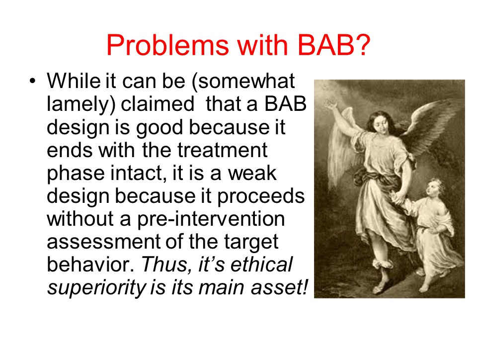 Problems with BAB.