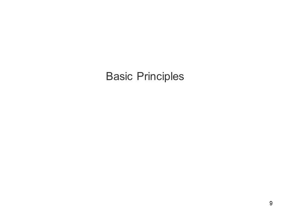 9 Basic Principles