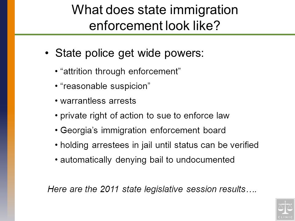 State police get wide powers: What does state immigration enforcement look like.