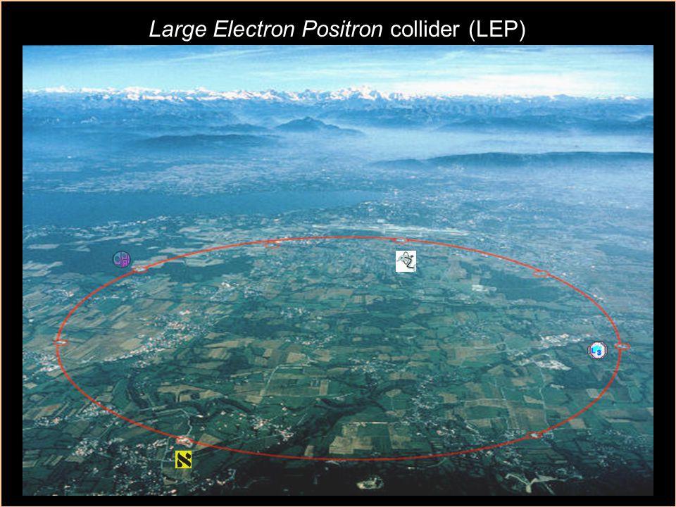 fysN15 Accelerators 4 Large Electron Positron collider (LEP)
