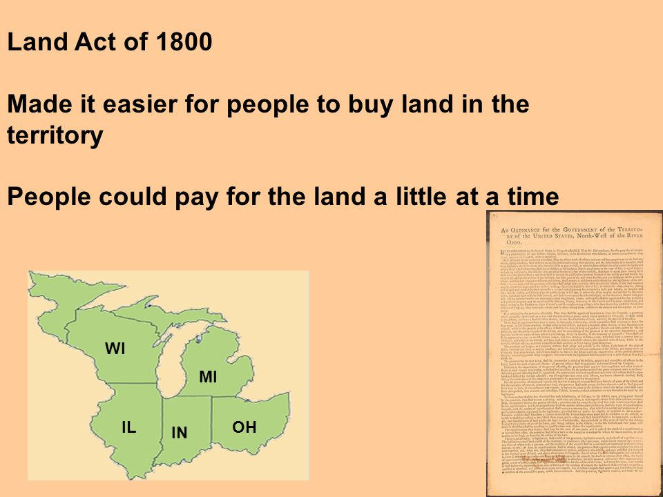 """4. The Northwest Ordinance required that all newly admitted states be on """"equal footing"""" with the original states 5. Added a clause (condition added t"""