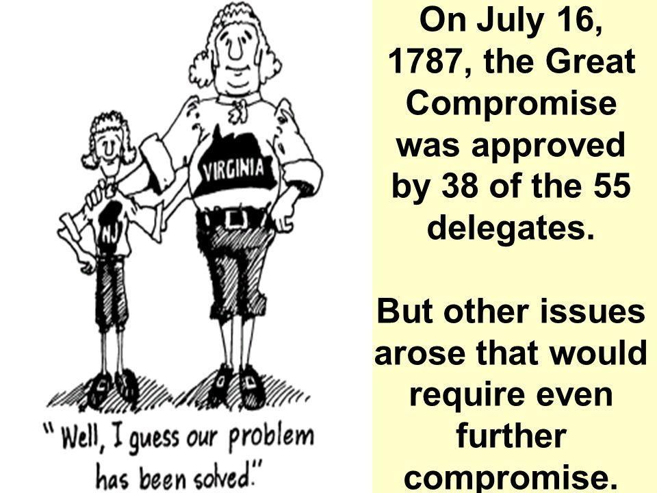 Bicameral Legislature Upper House United States Senate- Each state would have equal representation (1 state, 2 votes).