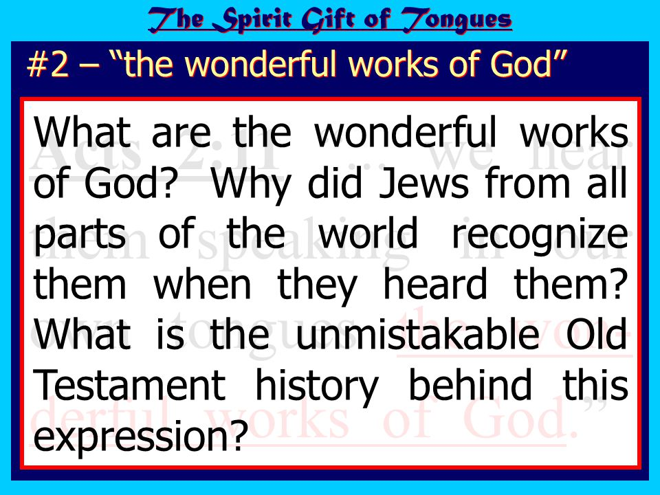 The credibility of the apostles soared! The wonderful works of God
