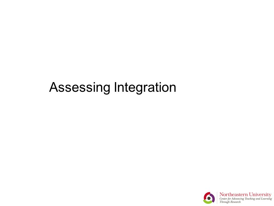 Assessing Integration