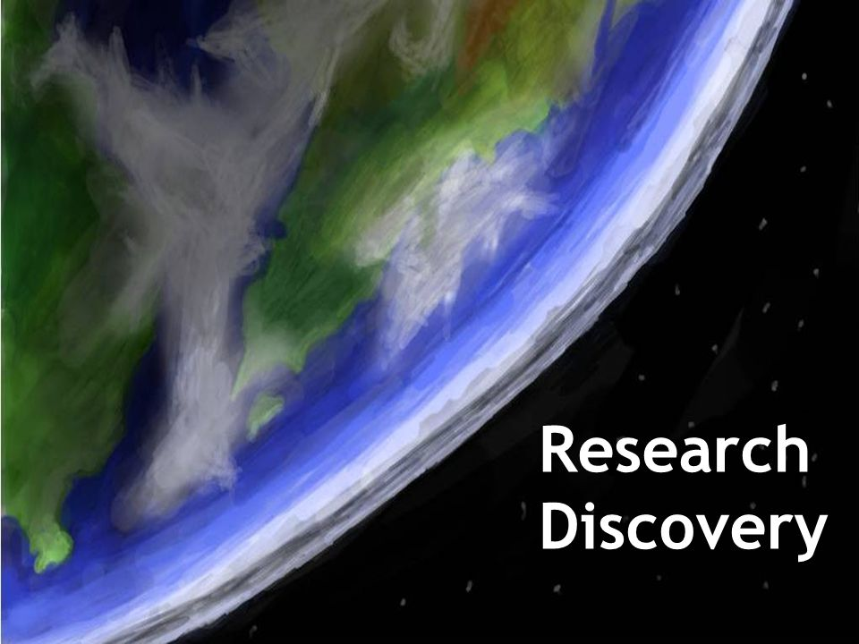 Research Discovery ResearchDiscovery