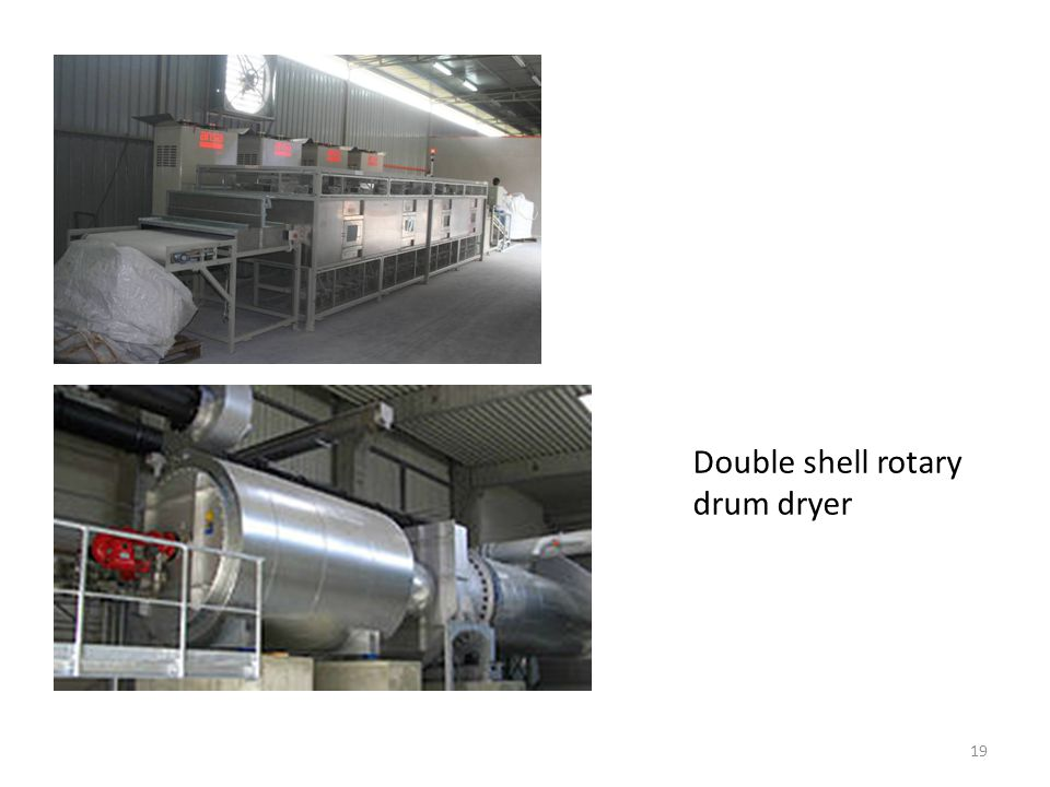 19 Double shell rotary drum dryer