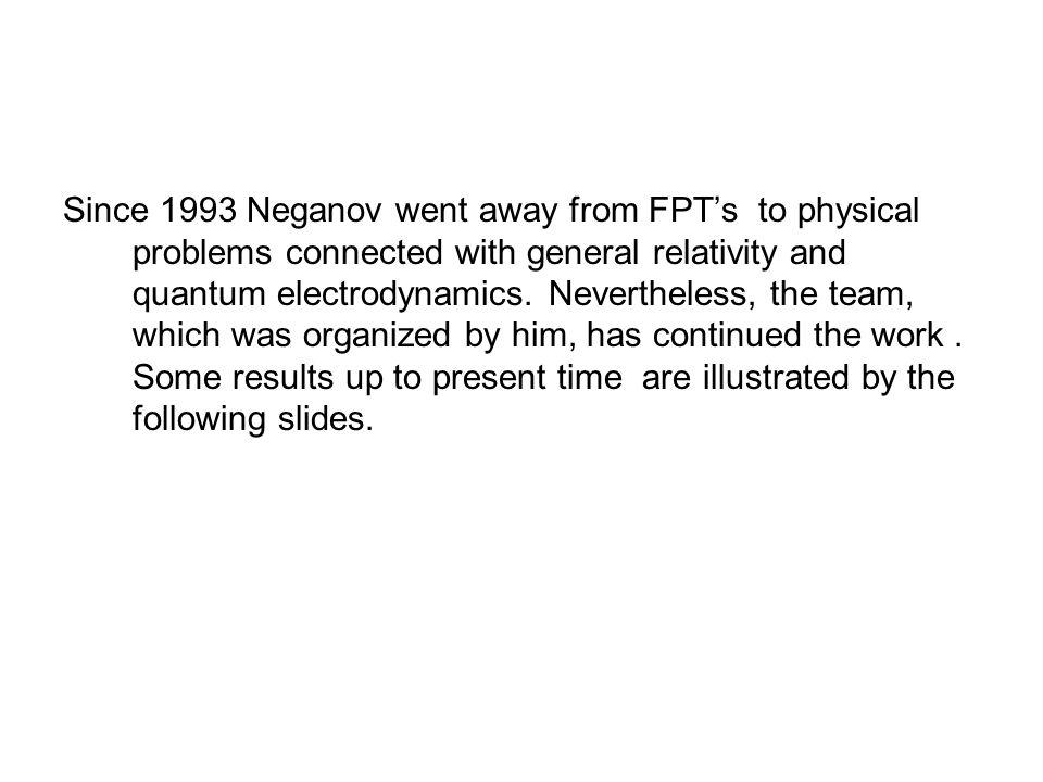B.S.Neganov during tuning of 1K Dynamic Polarized target ( app.1965).