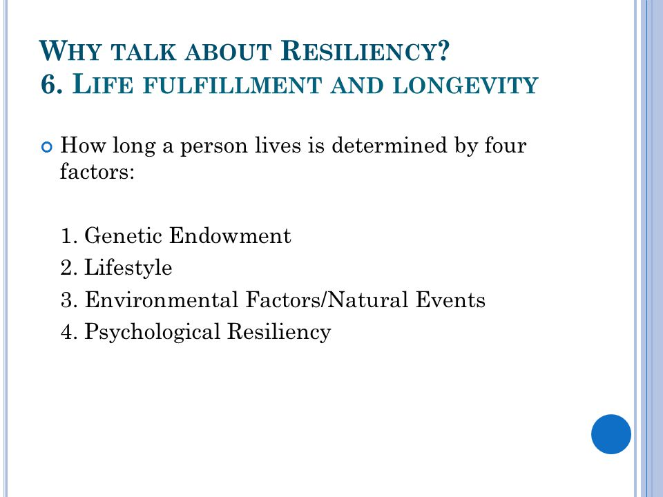 Q UALITIES OF H IGHLY R ESILIENT P EOPLE More than 30 years of research into the inner nature of highly resilient survivors has created a clear understanding of human resiliency and how it develops.