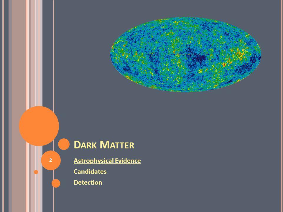 I NDIRECT D ETECTION OF WIMP S 33 Relatively high threshold of neutrino telescopes implies greater sensitivity to hard neutrinos, e.g.