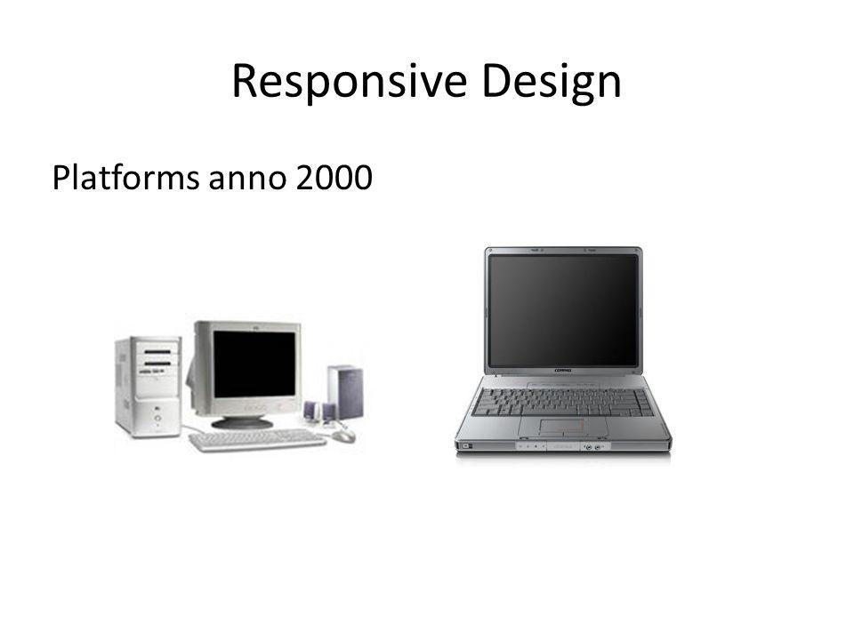 Responsive Design Platforms anno 2000