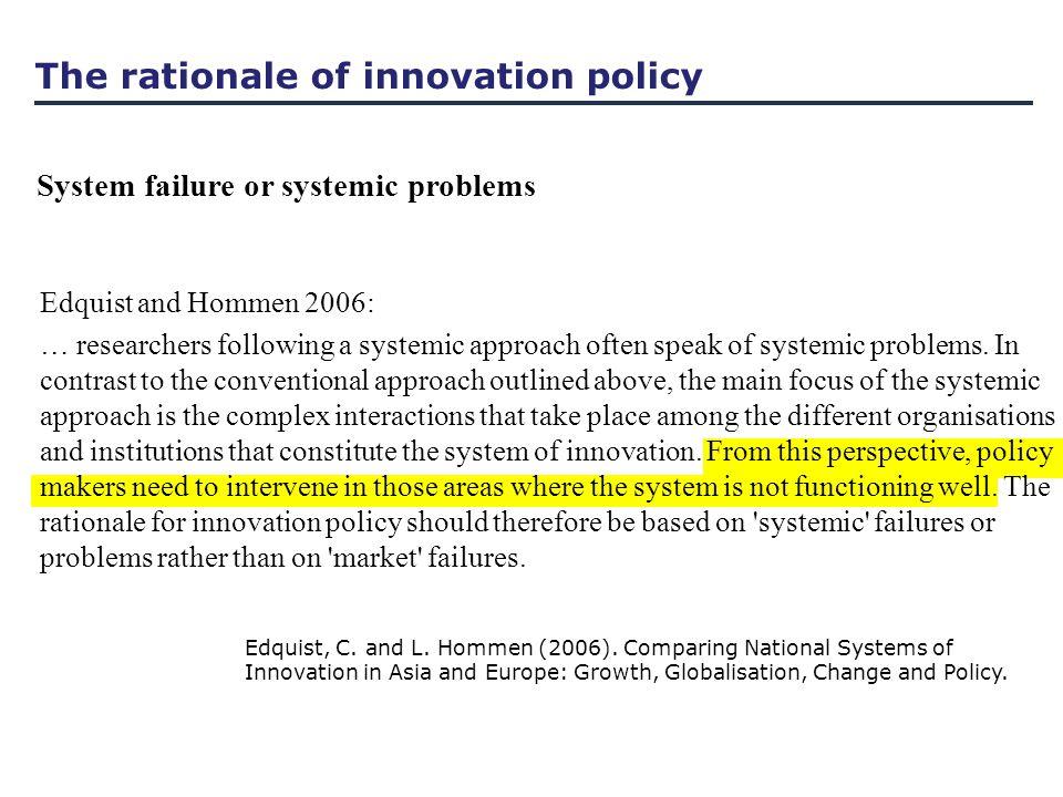 Edquist, C. and L. Hommen (2006).