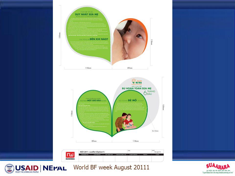 World BF week August 20111