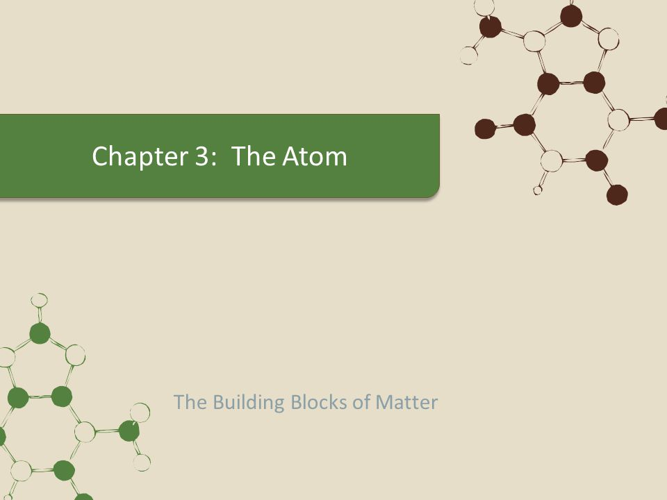 From Philosophical Idea to Scientific Theory Democritus – Particle theory of matter in 400 BC Atomos - indivisible – atom kept as name even though not indivisible Aristotle followed Demcritus and did not believe in atoms.