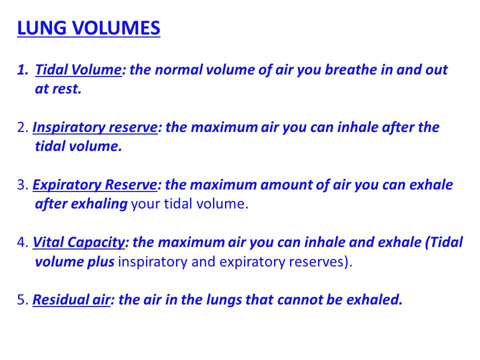 Conditioning of Inhaled Air: Several things happen to the air on its journey into the alveoli.