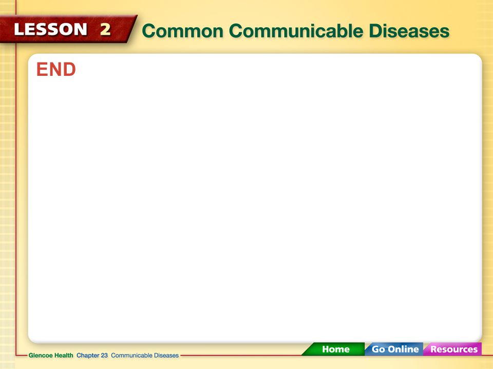 Other Communicable Diseases Direct or Indirect ContactVirusChicken Pox Direct or Indirect ContactVirus or BacteriaMeningitis VectorsVirusEncephalitis