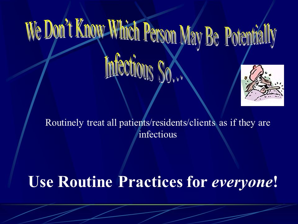 Infectious Agent Portal of Entry Susceptible host Reservoirs Portal of exit Means of transmission