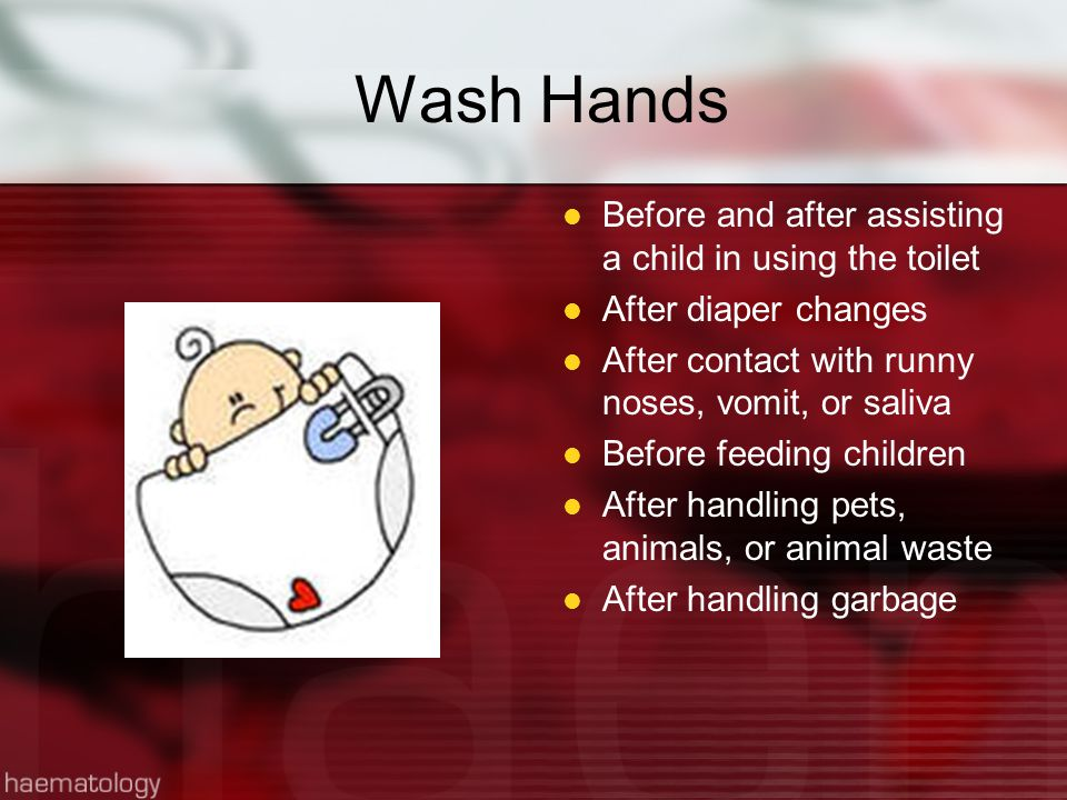 Technique for Hand Washing Remove rings and watches before washing If hands-free dispenser is not available, dispense paper towels before washing Hand should be positioned lower than the arms to avoid contamination