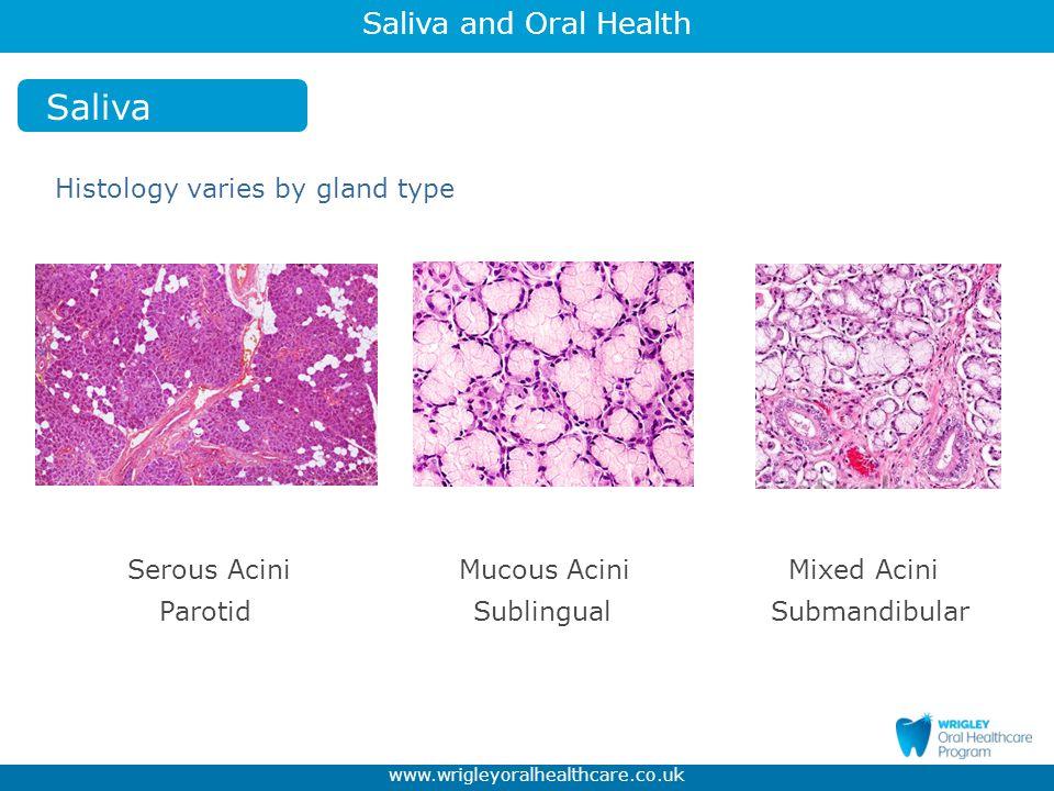 Saliva and Oral Health www.wrigleyoralhealthcare.co.uk Erosion ESCARCEL Study - Prevalence growing steadily.