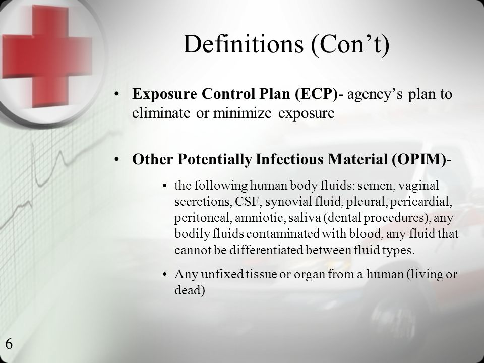 27 Practices All infectious materials go into a red biohazard bag.