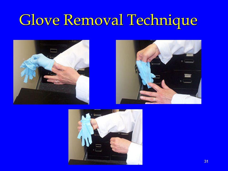 31 Glove Removal Technique