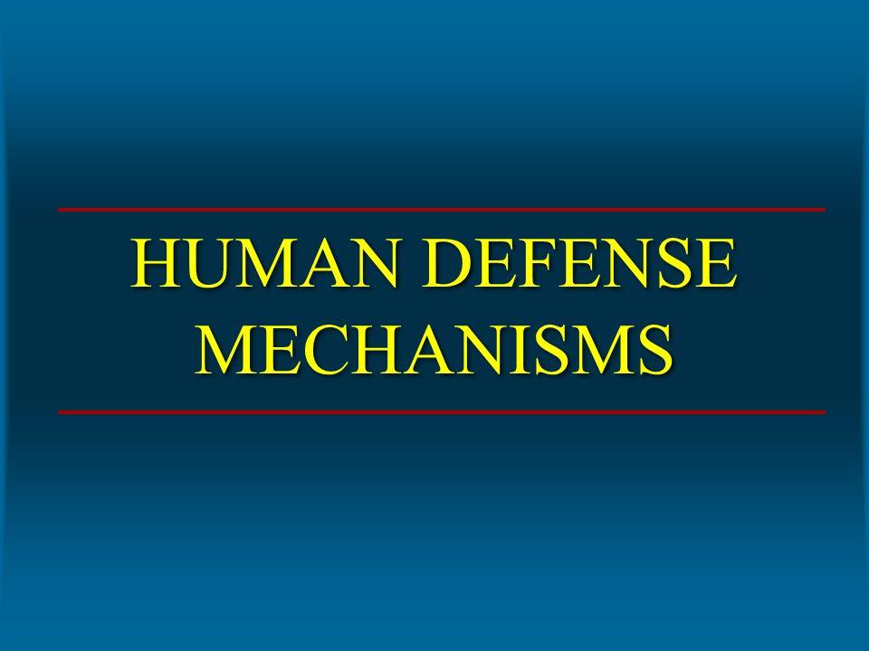 HUMAN DEFENSE MECHANISMS