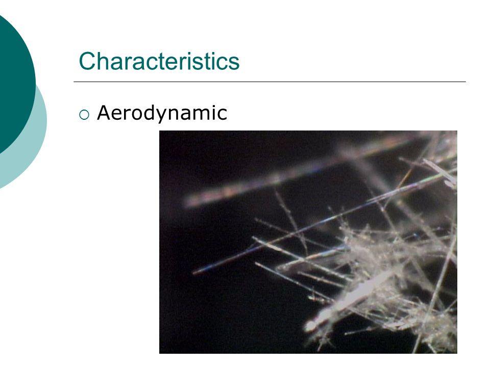 Characteristics  Aerodynamic  Aerodynamic