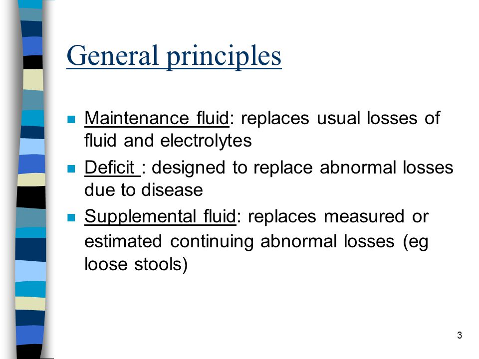Normal maintenance requirements