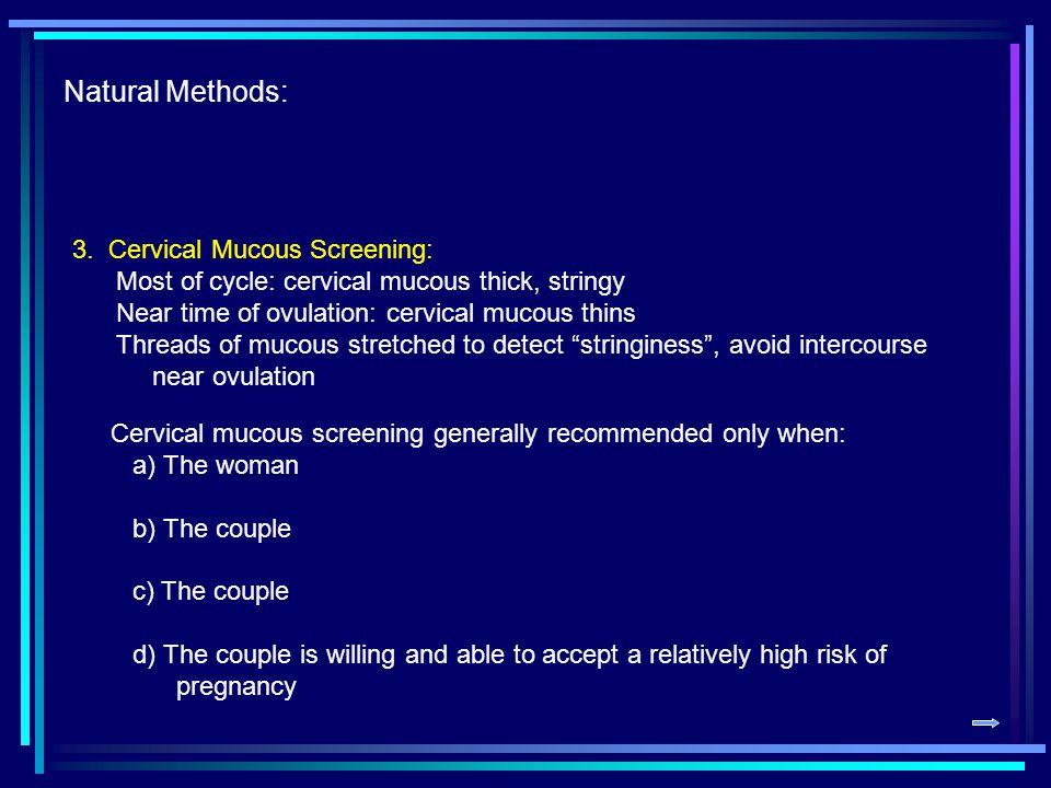Natural Methods: 4.