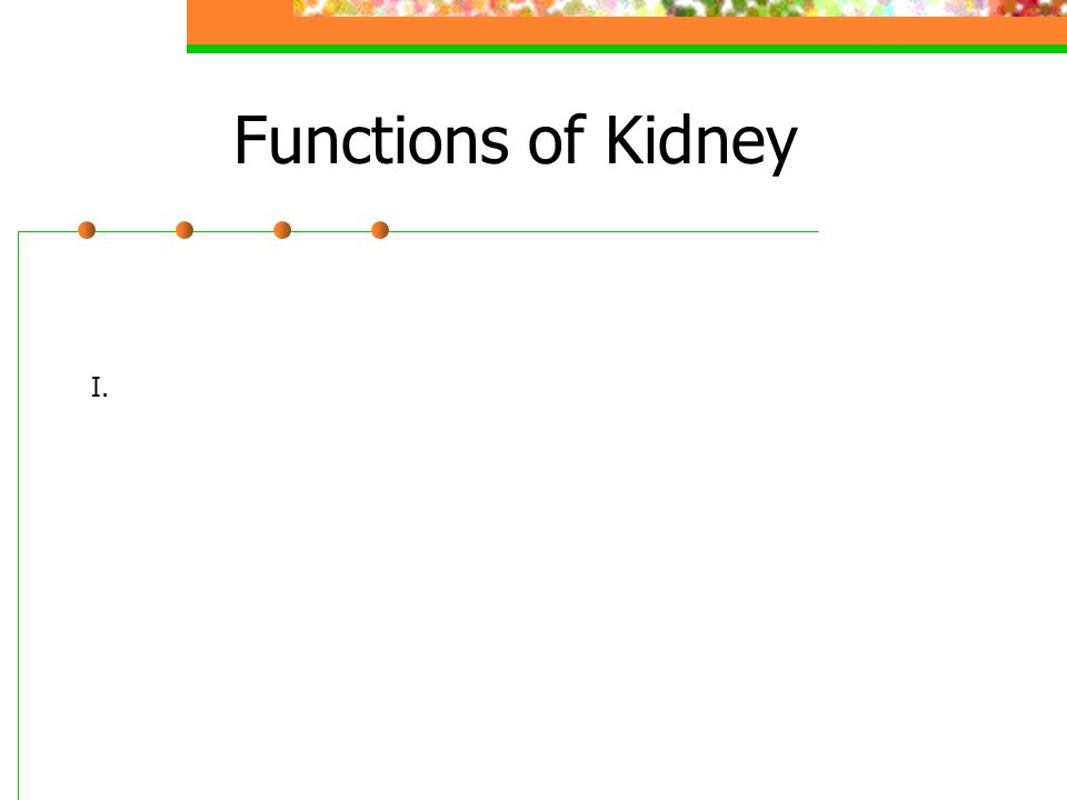 Structure of Kidney Renal cortex – outer layer, filtration Renal medulla – middle layer, filtration, absorption Renal pelvis – urine collection and transport Renal artery - Renal vein -