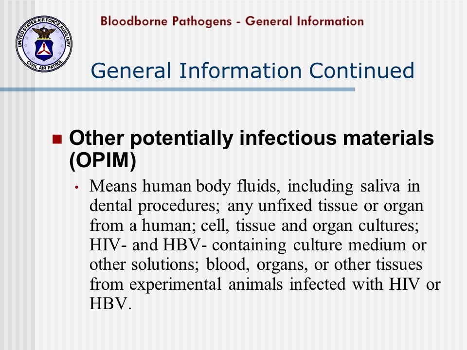 Review The Bloodborne Pathogens are microorganisms present in blood and other body fluids that can cause diseases with significant consequences.