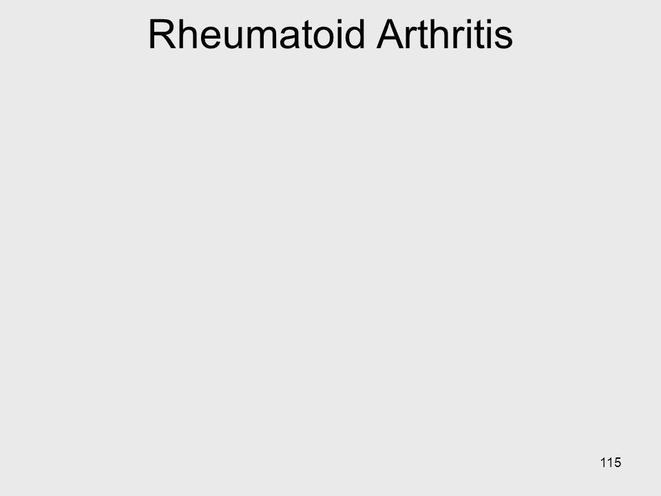 115 Rheumatoid Arthritis
